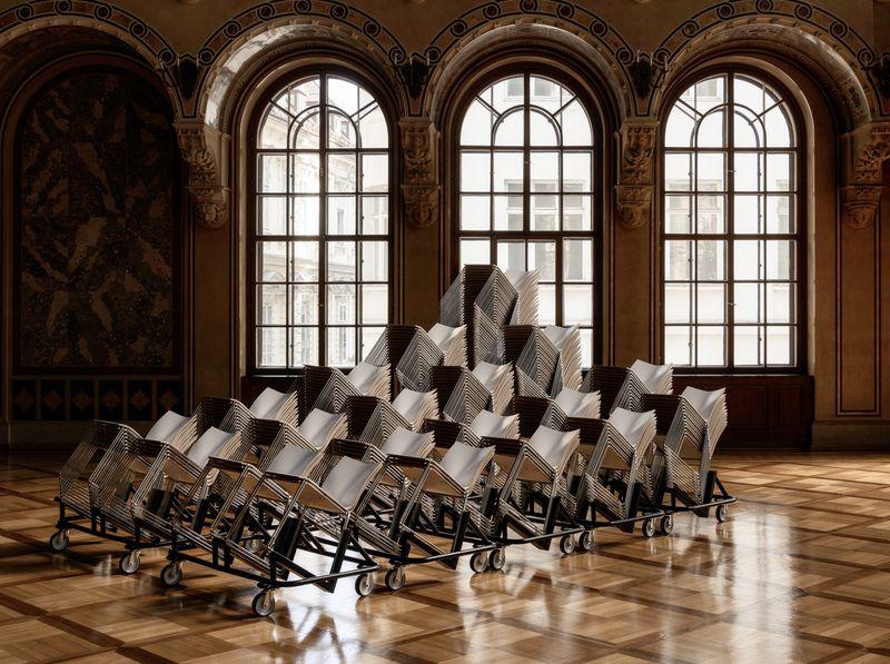 Meeting Vorbereitung, Palais Ferstel | © WienTourismus/David Payr